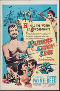 "Movie Posters:Adventure, Raiders of the Seven Seas & Other Lot (United Artists, 1953).One Sheet (27"" X 41"") & Insert (14"" X 36""). Adventure.. ...(Total: 2 Items)"