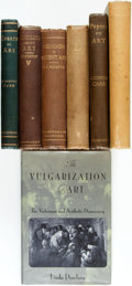 Books:Art & Architecture, [Victorian Art]. Group of Seven Books. Various publishers and dates. ... (Total: 7 Items)