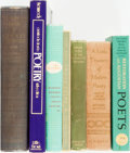 Books:Literature Pre-1900, [Poetry]. Group of Seven Books. Various publishers and dates. ...(Total: 7 Items)
