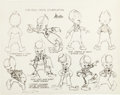 animation art:Model Sheet, Coca-Cola Commercial Studio Model Sheet Group (Coca-Cola/MinitoonsInc., c. 1940-53).... (Total: 3 Items)