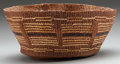 American Indian Art:Baskets, A NORTHWEST COAST TWINED BASKET...