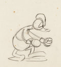 Animation Art:Production Drawing, Donald Duck Animation Drawing Group (Walt Disney, c. 1930s)....(Total: 5 Original Art)