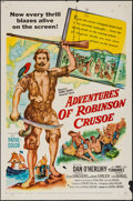 "Movie Posters:Adventure, Adventures of Robinson Crusoe & Others Lot (United Artists,1954). One Sheets (9) (27"" X 41""). Adventure.. ... (Total: 9 Items)"