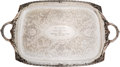 Baseball Collectibles:Others, 1969 Leo Durocher Silver Platter Presented by 1969 Chicago CubsTeam For His Wedding....