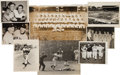 Baseball Collectibles:Photos, Early 1950's New York Yankees News Photographs Lot of 45....