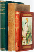 Books:Natural History Books & Prints, [Ornithology]. Group of Three Nineteenth Century Books on Birds. Various publishers and dates. ... (Total: 3 Items)