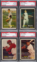 Baseball Cards:Sets, 1957 Topps Baseball Partial Set (336/407). ...