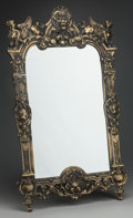 Decorative Arts, French:Other , A NAPOLEON III GILT BRONZE TABLE MIRROR, circa 1860. 32 inches highx 20 inches wide (81.3 x 50.8 cm). ...