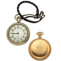Timepieces:Pocket (post 1900), Illinois Bunn Special & Waltham Pocket Watches For Parts Or Repair. ... (Total: 2 Items)