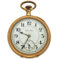Timepieces:Pocket (post 1900), Hamilton 21 Jewel Model 992 Pocket Watch. ...