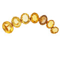 Estate Jewelry:Brooches - Pins, Citrine, Gold Brooch. ...