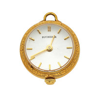 Bucherer 18k Gold Lady's Ball Pendant