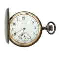 Timepieces:Pocket (post 1900), Waltham 17 Jewel Hunter's Case Pocket Watch. ...