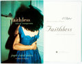 Books:Literature 1900-up, Joyce Carol Oates. SIGNED. Faithless. Tales of Transgression. Ecco Press, [2001]. First edition, first printing. S...