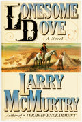 Books:Literature 1900-up, Larry McMurtry. Lonesome Dove. New York: Simon andSchuster, [1985]. First edition, first printing. Publisher's ...