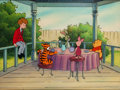 Animation Art:Production Cel, The New Adventures of Winnie the Pooh Christopher Robin andFriends Production Cel Setup (Walt Disney, 1989)....