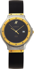 Estate Jewelry:Watches, Hublot Lady's Gold, Stainless Steel MDM Wristwatch. ...