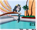 Animation Art:Production Cel, The Tom and Jerry Comedy Show Tom Cat and Slick WolfProduction Cel Group (Filmation, 1980).... (Total: 5 Original Art)