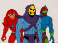 Animation Art:Production Drawing, He-Man and the Masters of the Universe Skeletor, Trap Jaw,and Beast Man Production Cel Setup and Animation Drawing Gr...(Total: 5 )