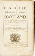 Books:Religion & Theology, John Knoxe. The Historie of the Reformatioun of Religioun within the Realm of Scotland... Together with the Life of John...