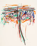 Fine Art - Work on Paper:Print, JOAN MITCHELL (American, 1926-1992). Tree II, 1992.Lithograph in colors on wove paper. 24-1/2 x 20 inches (62.2 x 50.8...