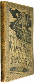 Books:First Editions, Lewis Carroll: The Hunting of the Snark An Agony in EightFits (London: Macmillan and Co., 1876), first edition, ori...(Total: 1 Item)