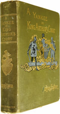 Books:First Editions, Mark Twain: A Connecticut Yankee in King Arthur's Court (NewYork: Charles L. Webster & Company, 1889), first editio...