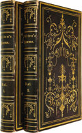Books:Fiction, John Milton: Two Volume Set of The Poetical Works (New York: Harper & Brothers, Publishers, nd), two volumes: volume I i... (Total: 2 Item)
