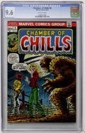 Bronze Age (1970-1979):Horror, Chamber of Chills #6 (Marvel, 1973) CGC NM+ 9.6 Off-white pages....