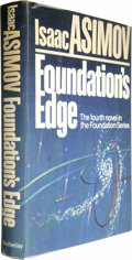 Books:First Editions, Isaac Asimov Signed: Foundation's Edge....
