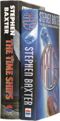 Books:Signed Editions, Stephen Baxter Two Signed First Editions.... (Total: 2 Items)