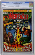 Bronze Age (1970-1979):Horror, Werewolf by Night #8 (Marvel, 1973) CGC NM+ 9.6 Off-white pages....