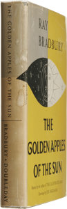 Books:Signed Editions, Ray Bradbury Signed: The Golden Apples of the Sun....