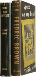 Books:First Editions, Frederic Brown First Editions.... (Total: 2 Items)