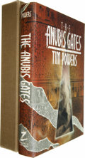 Books:Signed Editions, Tim Powers Signed: The Anubis Gates. Also signed by Mark Bilokur and J. K. Potter. (Shingletown: Mark V. Ziesing...