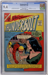 Thunderbolt #51 (Charlton, 1966) CGC NM 9.4 Off-white to white pages