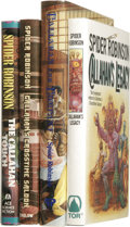 """Books:Signed Editions, Spider Robinson: Four Signed """"Callahan's"""" First Editions. ... (Total: 4 Items)"""