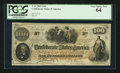 Confederate Notes:1862 Issues, T41 $100 1862 PF-6 Cr. 319. ...