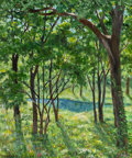Texas:Early Texas Art - Modernists, EMILY GUTHRIE SMITH (American, 1909-1986). Trinity Park. Oilon canvas. 24 x 20 inches (61.0 x 50.8 cm). Signed lower le...