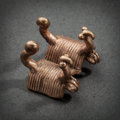 Pre-Columbian:Metal/Gold, A SINU GOLD PENDANT IN FORM OF TWO BIRDS...