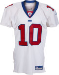 Football Collectibles:Uniforms, 2004 Eli Manning Game Worn New York Giants Rookie Jersey....