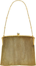 Estate Jewelry:Other , Sapphire, Gold Purse. ...