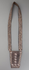 American Indian Art:Jewelry and Silverwork, A NAVAJO MEDICINE POUCH. c. 1940...