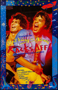 "Movie Posters:Rock and Roll, Let's Spend the Night Together (Tobis, 1982). German A1 (21.25"" X 33""). Rock and Roll. Alternate Title: Rocks Off!. ..."