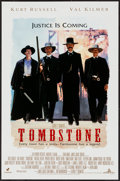 "Movie Posters:Western, Tombstone (Buena Vista, 1993). Mini Poster (17.5"" X 27""). Western.. ..."