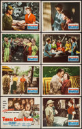 """Movie Posters:War, Three Came Home (20th Century Fox, 1949). Lobby Card Set of 8 (11""""X 14""""). War.. ... (Total: 8 Items)"""