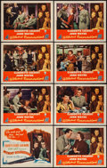 """Movie Posters:Comedy, Without Reservations (RKO, 1946). Lobby Card Set of 8 (11"""" X 14""""). Comedy.. ... (Total: 8 Items)"""
