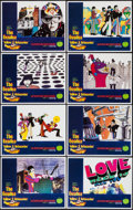 "Movie Posters:Animation, Yellow Submarine (Subafilms, R-1999). Numbered Reproduction Lobby Card Set of 8 (11"" X 14""). Animation.. ... (Total: 8 Items)"