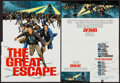 "Movie Posters:War, The Great Escape (United Artists, 1963). Gatefold Promos (2) (8.75""X 12"") DS. War.. ... (Total: 2 Items)"