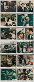 """Movie Posters:Crime, The Godfather (Paramount, 1972). Mini Lobby Card Set of 12 (8"""" X10""""). Crime.. ... (Total: 12 Items)"""